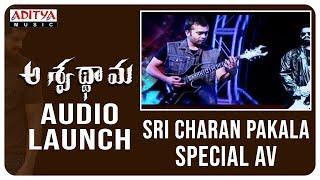 Sri Charan Pakala Special AV @ Aswathama Audio Launch Live | Naga Shaurya | Mehreen |