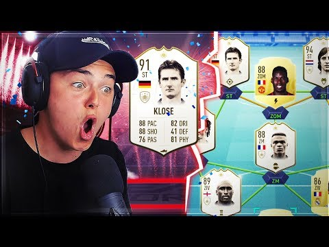 FIFA 19: NEUE ICONS SIND DA!!! - PACK's & TEAMBUILDING!