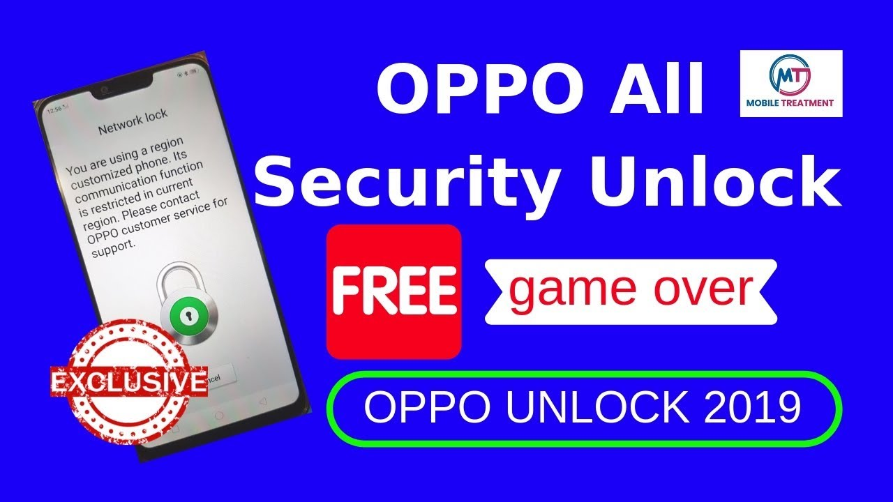 OPPO All Qualcomm [No Need Downgrade] Network Unlock Free