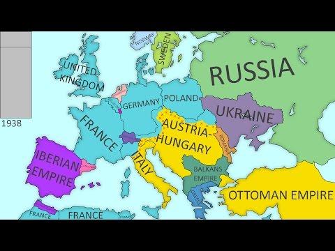 Alternate History of Europe - No WW1 - #1
