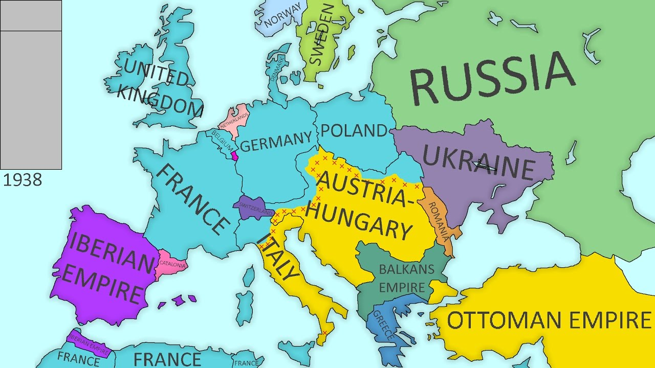 Europe Before Ww1 Map Map Of United States With Names