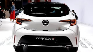 2020 TOYOTA COROLLA GR SPORT - EXTERIOR AND INTERIOR - AWESOME SPORTY HATCHBACK