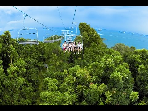 Ride in the Sky With Singapore's Skyline Luge Sentosa