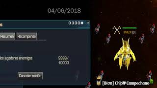 Dark orbit - 10000 naves enemigas - Titulo conseguido