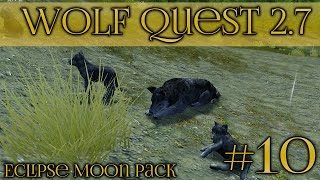 Birth of Our Wolf Pups!! 🐺 Wolf Quest 2.7 - Episode #10