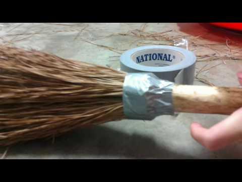 Diy Simple Harry Potter Quittage Broom Tutorial