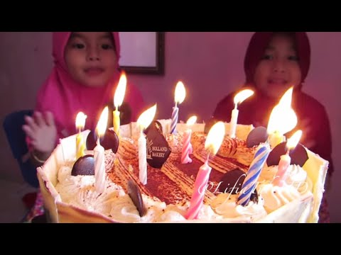 Selamat Ulang Tahun Niala ke 4 ❤ Happy Birthday Niala