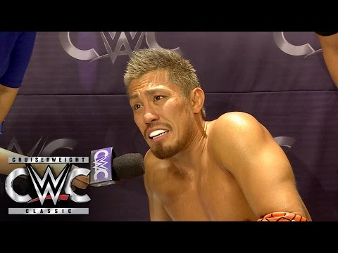 Akira Tozawa feels the effect of Jack Gallagher's offense: CWC Exclusive, Aug. 17, 2016