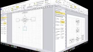 MS Visio Блок-схема бизнес-процесса