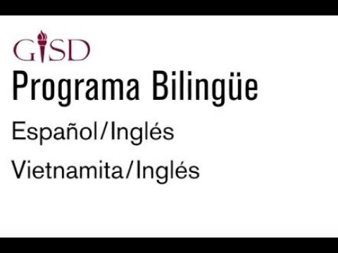 GISD Elementary Bilingual  program for elementary in Spanish