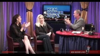 """Ken Boxer Live,"" Cherie Currie, Lead Vocalist of ""The Runaways,"" w/ Tai Babilonia"