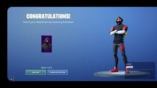 Claiming IKONIK BUNDLE!! IKONIK SKIN + SCENARIO EMOTE on S10 in Singapore for FREE!! | Fortnite BR