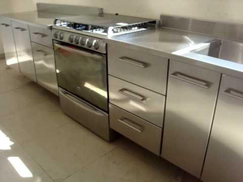 Cocina de acero inoxidable youtube - Lavabo de acero inoxidable ...