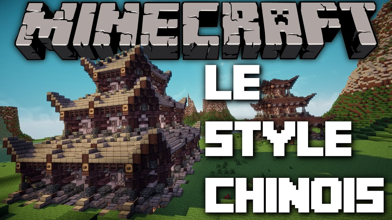 Minecraft le style chinois youtube - Maison style asiatique ...