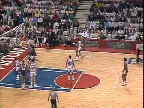 1989 NBA Finals: Lakers at Pistons, Gm 2 part 1/13