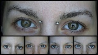 1 Month Eyebrow Regrowth