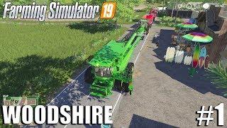 Getting Started - Woodshire Timelapse #1 | Farming Simulator 19 Timelapse