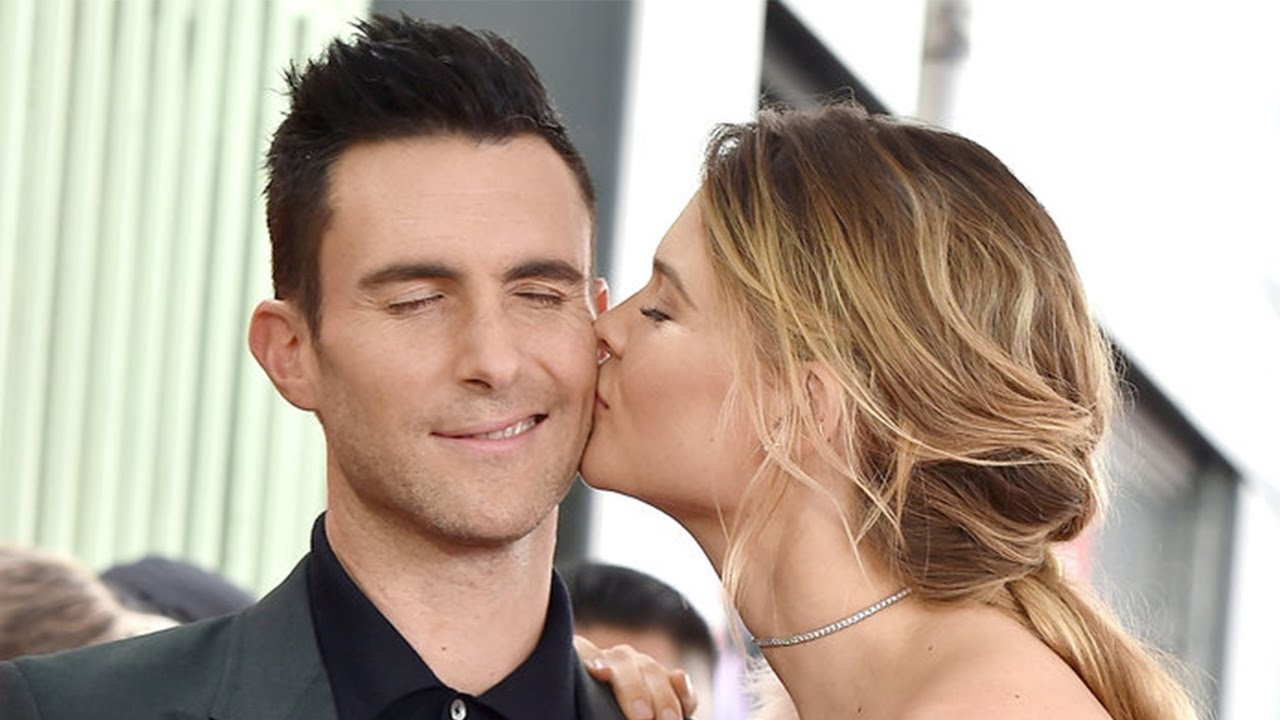 Adam levine and behati prinsloos cutest couple moments from 2014 adam levine and behati prinsloos cutest couple moments from 2014 to 2017 nvjuhfo Images