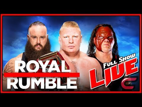 royal rumble 2018 full match online