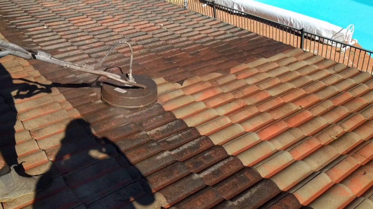 Cement Tile Washing   Exterior Coat Painting Roof Restoration, Newcastle NSW