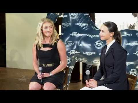 Cross-Interview with Masters of Speed Mikaela Shiffrin & Georgina Bloomberg
