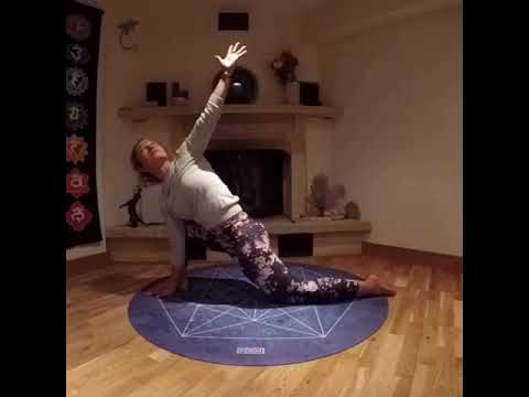 gentle 15 minutes yoga flow for morning or evening  youtube