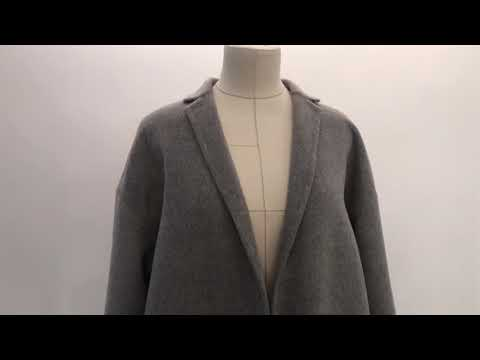 Cashmere Coat / кашемировое пальто / серое пальто