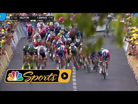 Tour de France 2018: Stage 8's thrilling finish I NBC Sports