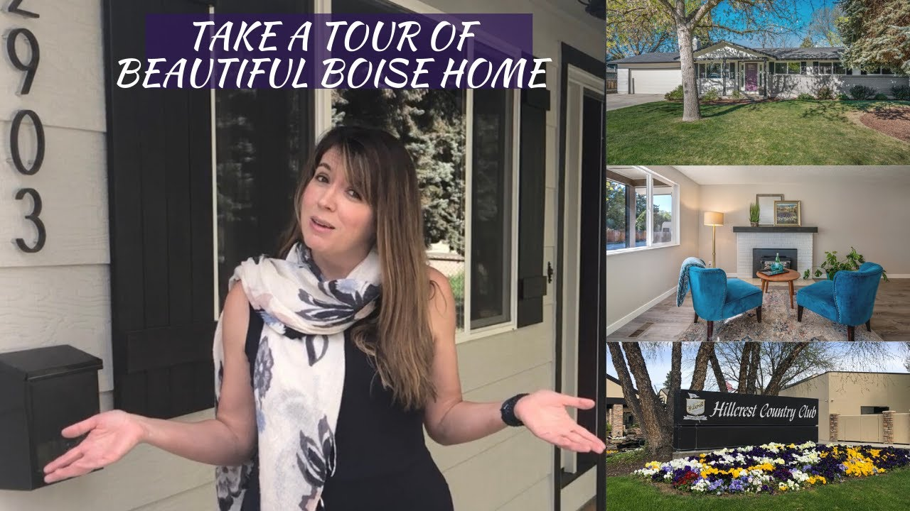Virtual Tour of Georgeous Boise Remodel in Hillcrest
