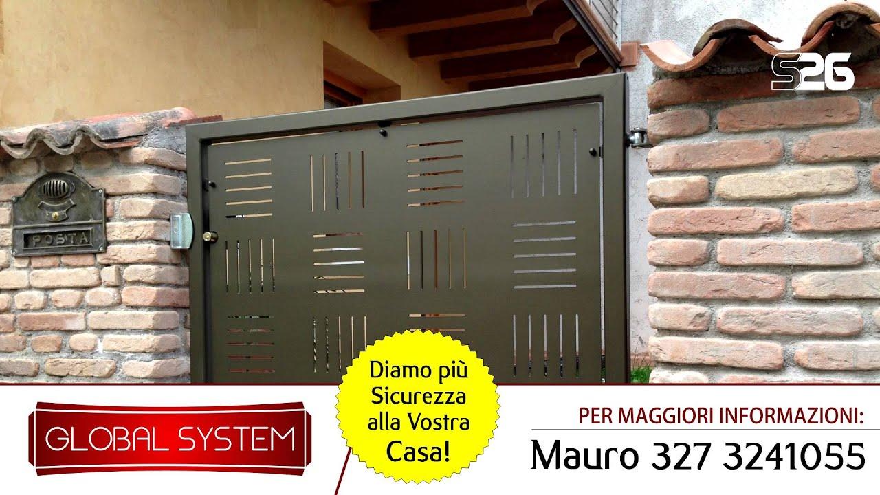 Simple produzione cancelli duingresso carrabili pedonali for Leroy merlin cancelli