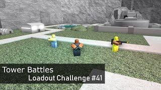 Congeler, brûler, Boum! #41 de loadout Challenge (en anglais seulement) Batailles de tour [ROBLOX]
