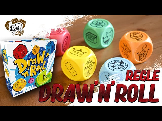 Draw'n'roll - Montrez-nous vos talents de dessin - Blue orange