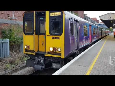 **Trains at Welwyn Garden city (15/09/2018 ECML )**