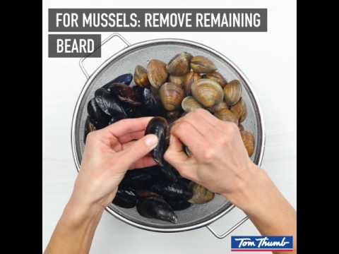 How To Clean Mussels & Clams