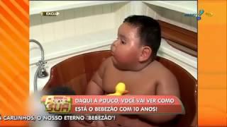 A Tarde é Sua: Relembre a emocionante história do 'bebezão Carlinhos'