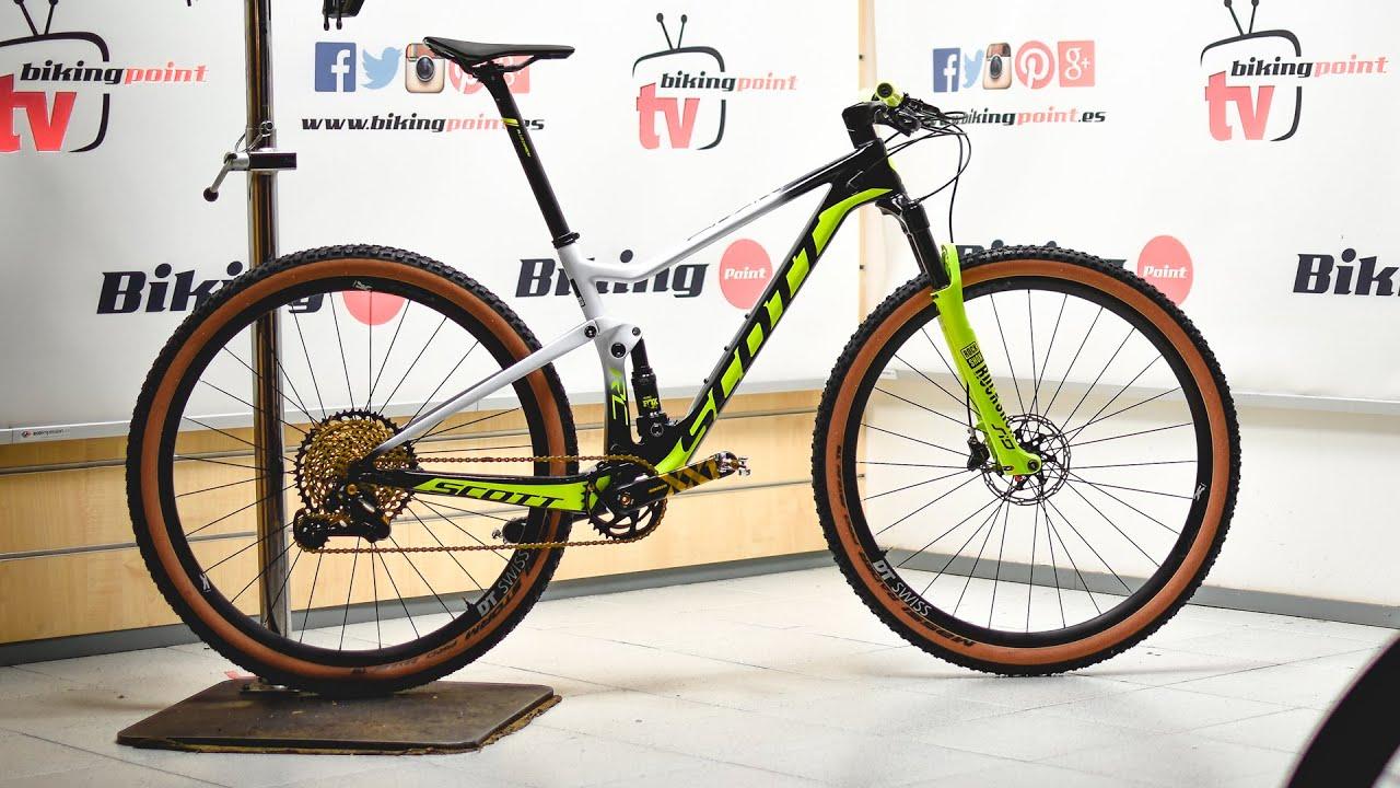 Bicicletta Scott Spark Rc 900 World Cup