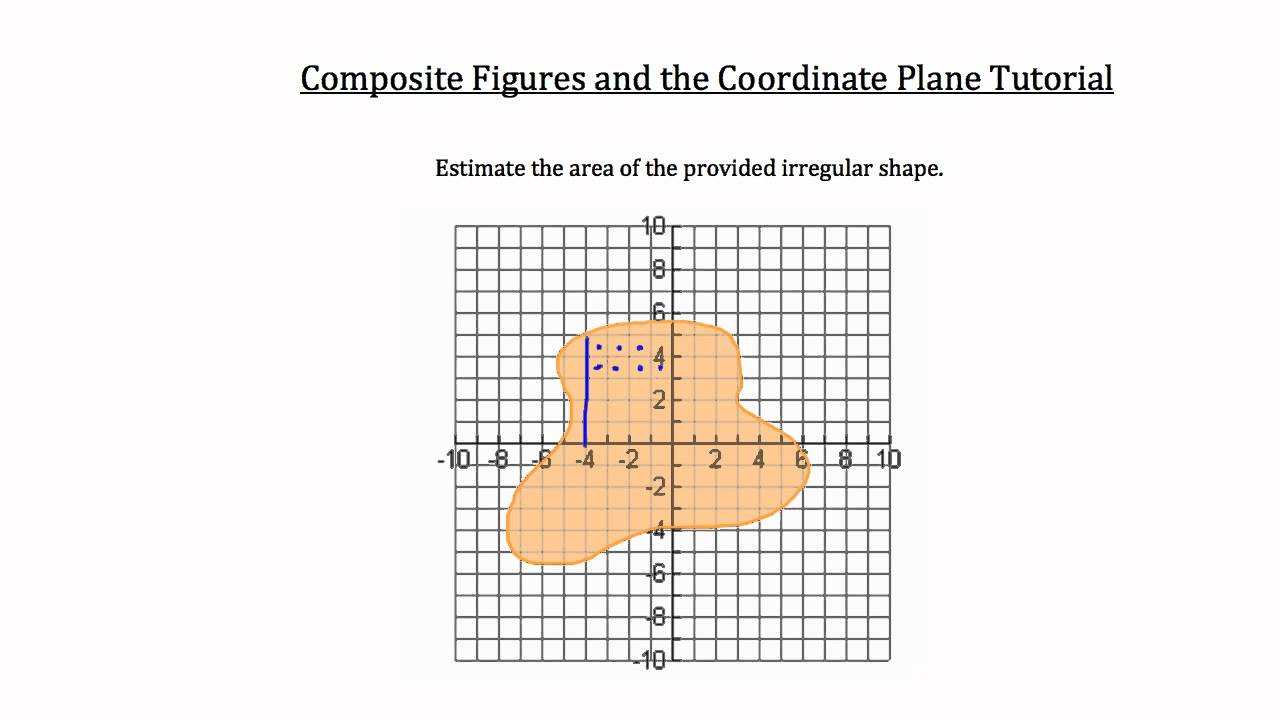 Free Worksheet Area Of Compound Shapes Worksheet coordinate plane and composite figures youtube figures