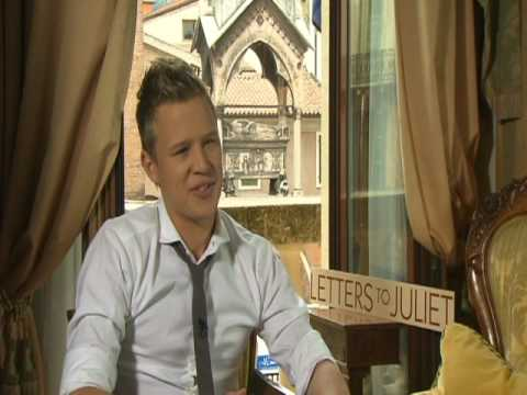 LETTERS TO JULIET Interviews with Amanda Seyfried, Christopher Egan, Vanessa Redgrave & Franco Nero