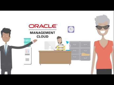 Oracle Management Cloud animation video