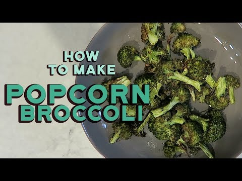 Homemade Healthy Broccoli Chips Recipe  Aimee Song
