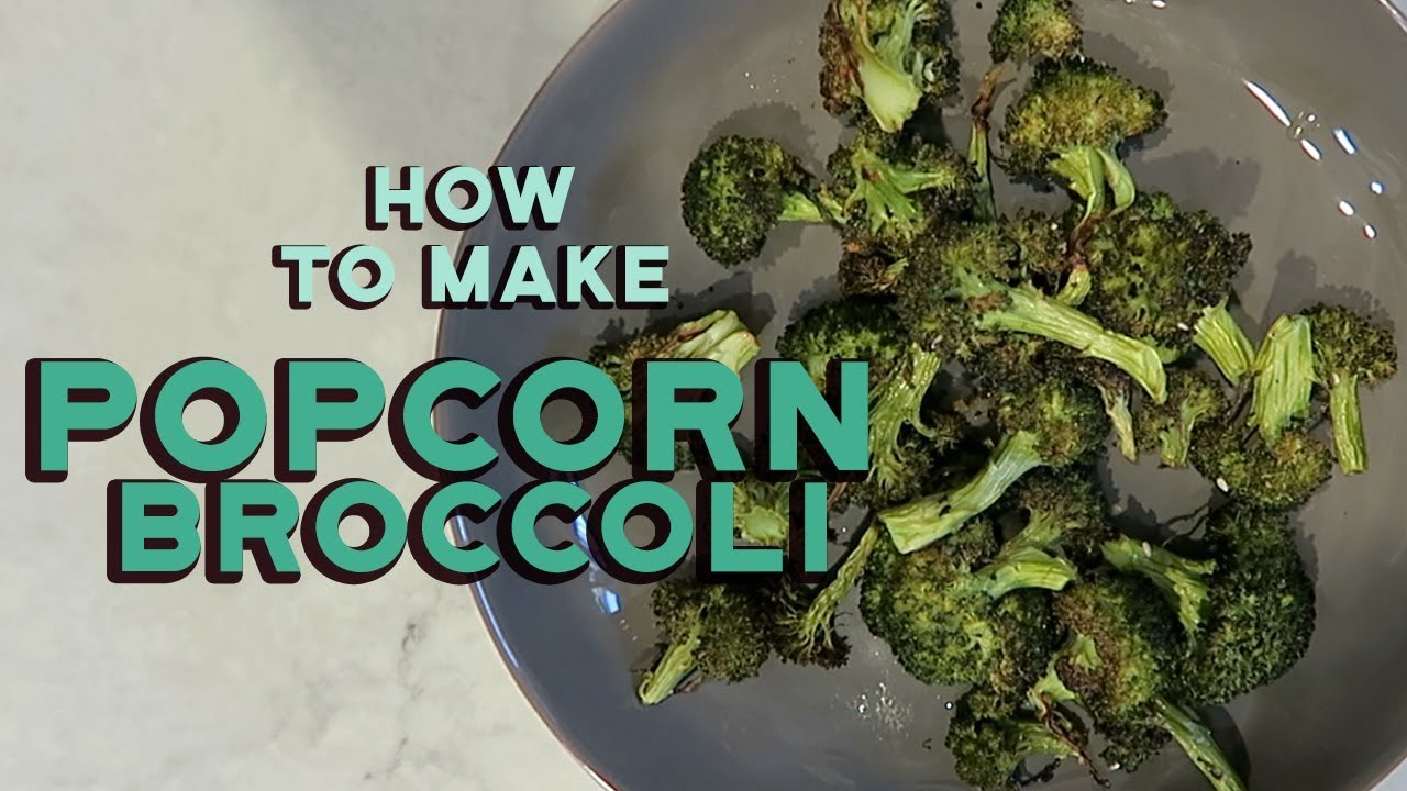 how to make home made broccoli chips