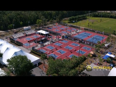 Exciting Look At The US Open Pickleball Championships! 2016