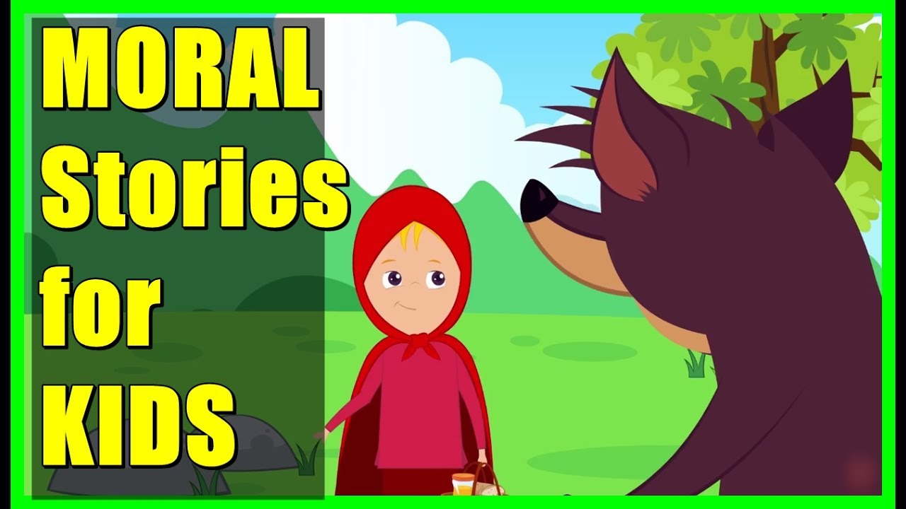 Short Stories For Kids The Little Red Riding Hood Story Lion