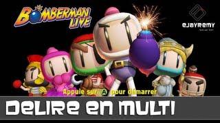 [GAMING] Bomberman Live - Délire et FAIL avec Maiden & Hidan Game | Family Geek