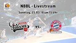 NEU!: NBBL Playoffs Nürnberg Falcons BC - FC Bayern München Basketball