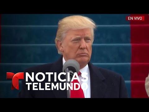 Discurso de Donald Trump en su toma de posesión (español) | Noticiero | Noticias Telemundo
