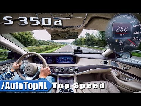 TOP SPEED in 2018 MERCEDES BENZ S CLASS S350d by AutoTopNL