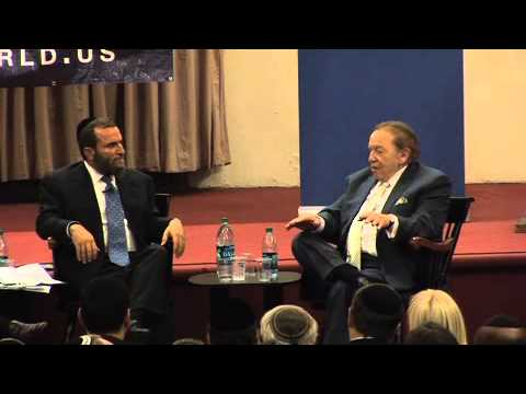 Sheldon Adelson: Attack Iran with an atomic bomb - YouTube