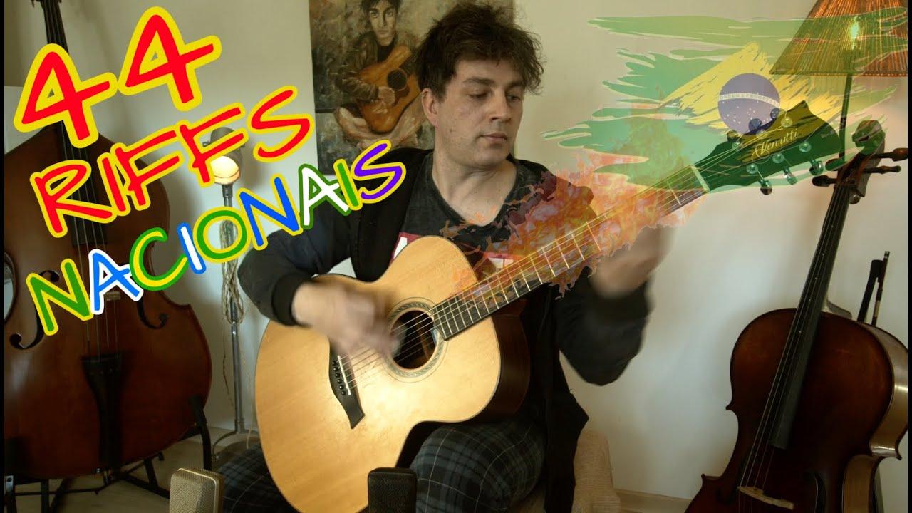 44 Riffs Nacionais no Violão por Fabio Lima