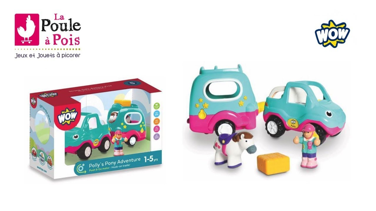 Wow Poney Et Son Toys Véhicule Polly sQBhotCrdx